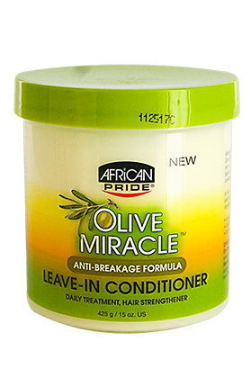 African Pride - Olive Miracle Leave In Conditioner