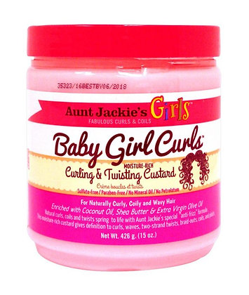 Aunt Jackie's Girls Curling & Twisting Custard