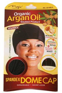 Magic Collection Organic Argan Oil Spandex Dome Cap
