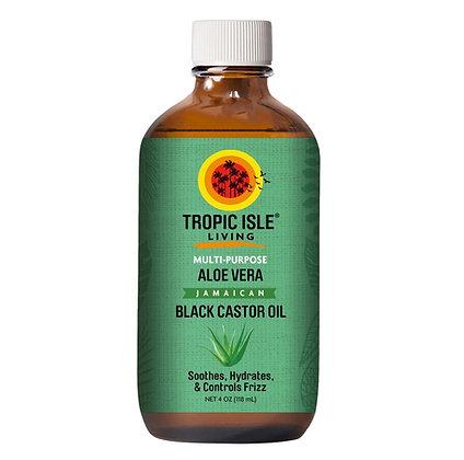Tropic Isle Living - Natural Multi-Purpose Aloe Vera Jamaican Black Castor Oil