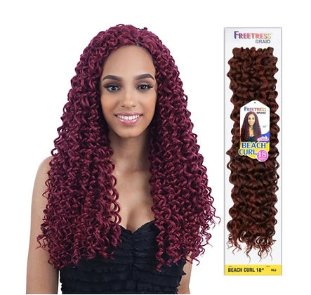FreeTress - BEACH CURL Crochet Braid