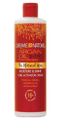 CREME of NATURE Argan Oil - Moisture & Shine Curl Activator Crème