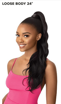 """Loose Body 24""""-Outre Pretty Quick Wrap Ponytail"""