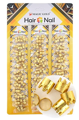 Magic Collection GOLD CROWN Hair Bead