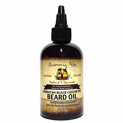 Sunny Isle -  100% Natural Jamaican Black Castor Oil - Beard Oil