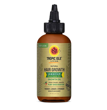 Tropic Isle Living - Natural Hair Growth Jamaican Black Castor Oil