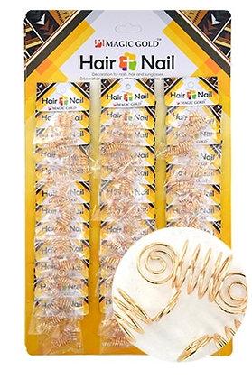 Magic Collection SPIRAL  Hair Bead