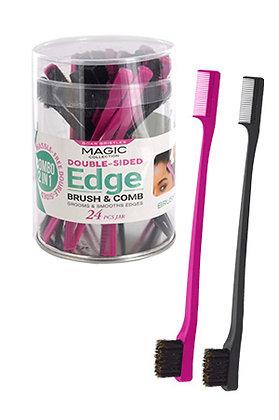Magic 2 -n- 1 Edge Brush