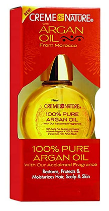 CREME of NATURE Argan Oil - 100% Pure Argan Oil