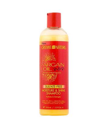 CREME of NATURE Argan Oil - Sulfate Free Moisture & Shine Shampoo