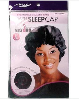 Magic Satin Sleep Cap Bonnet