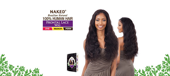 NATURAL 101 -  Naked Brazillian Front Lace Wig