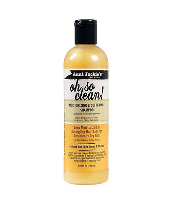 Aunt Jackie's Curls & Coils Moisturizing & Softening Shampoo