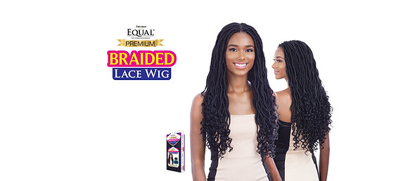 GORGEOUS LOCS -  Equal Braided Lace Wig