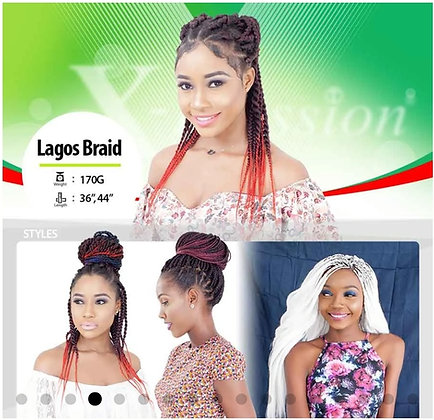 LAGOS BRAID - Xpression Braid