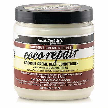 Aunt Jackie's Curls & Coils Coconut Creme Deep Conditioner