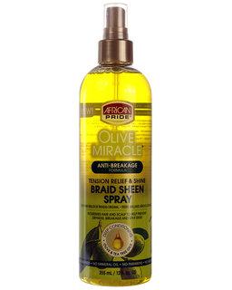 African Pride Olive Miracle Sheen Braid Spray