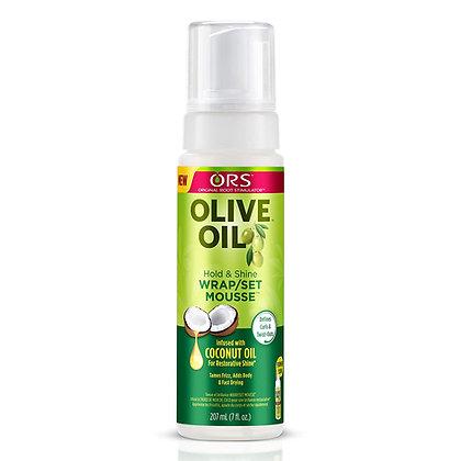 Original Root Stimulator (ORS) Olive Oil Wrap/Set Mousse