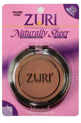 Naturally ZURI Sheer Free Oil Free Pressed Powder