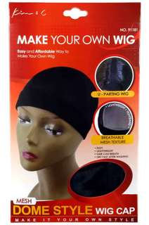 KIM & C Wig Cap Mesh Dome Cap