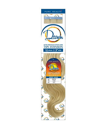 DAWN BODY WAVY TAPE IN HUMAN HAIR EXTENSIONS