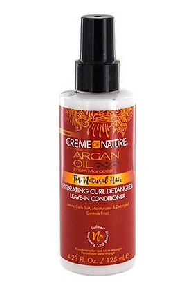CREME of NATURE Argan Oil - Hydrating Curl Detangler Leave-In Conditioner