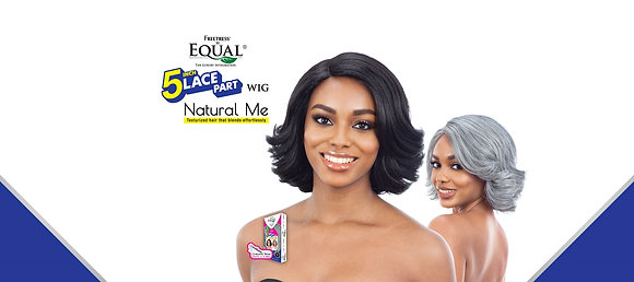 NATURAL SET - Equal Lace Part Synthetic Wig