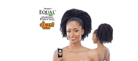 """FREETRESS EQUAL DRAWSTRING PONYTAIL - CUBAN GIRL 4"""""""