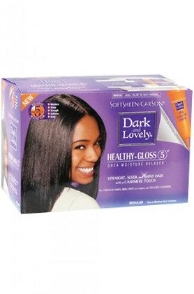 Dark & Lovely Healthy Gloss 5 Shea Moisture Relaxer Kit