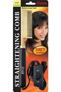 Annie Electrical Straightening Pressing Hot Comb