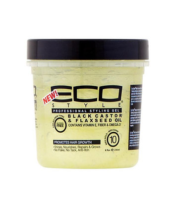 ECO STYLE Styling Gel [Black Castor & Flaxseed Oil]