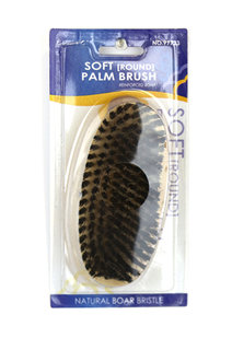 KIM & C Soft Round Palm Brush