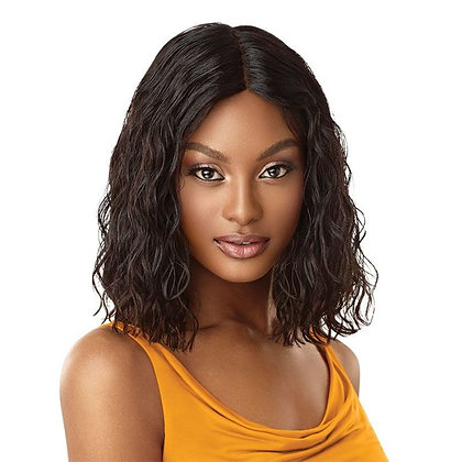 """CURLY BLUNT BOB 14"""" - Outre The Daily Human Hair  Wig"""