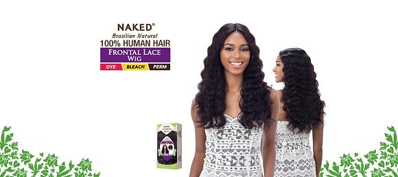 NATURAL 301 - Naked Brazillian Front Lace Wig
