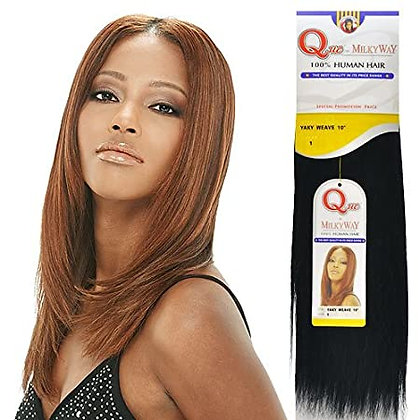 QUE by MilkyWay -  Yaky Weave - Human Hair Extensions