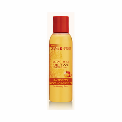 CREME of NATURE Argan Oil - Heat Protector Smooth & Shine Polisher