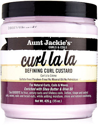 Aunt Jackie's Curls & Coils Defining Curl Custard