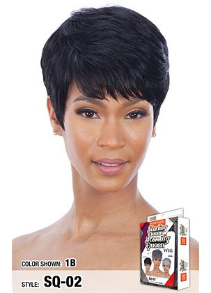 SQ-02 - Model Model Synthetic Wig