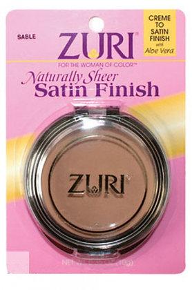ZURI- Naturally Sheer Satin Finish
