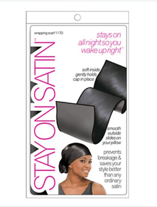 Stay On Satin Wrapping Scarf
