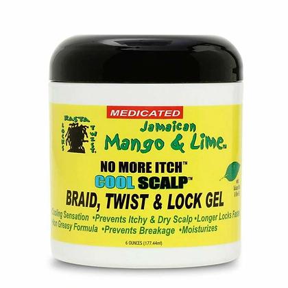 Jamaican Mango and Lime - Cool Scalp - Braid, Twist Lock Gel