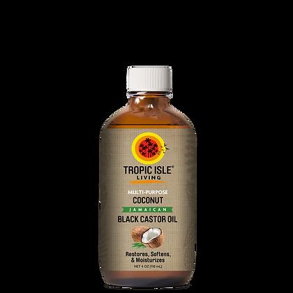 Tropic Isle -  Natural Multi-Purpose Coconut Jamaican Black Castor Oil