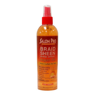 Salon Pro Argan Oil Sheen Braid Spray