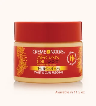 CREME of NATURE Argan Oil - Twist & Curl Pudding
