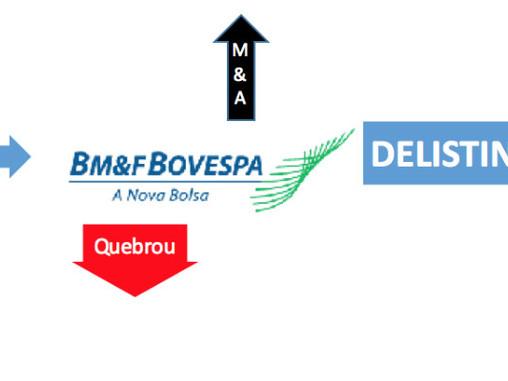 """""""des-IPO"""", a saída da BOVESPA"""
