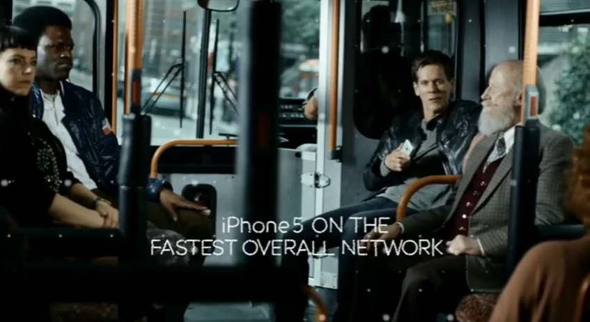 EE Commercial with Kevin Bacon