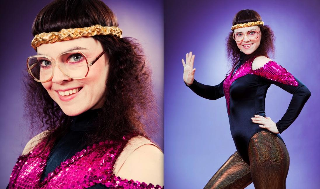 Retro Disco Girl