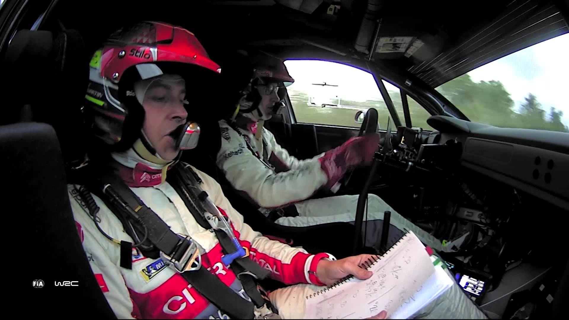 Rally Argentina Craig Breen onboard