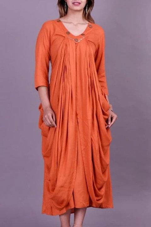 Women's Rayon Slub Designer Kurti