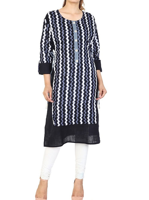 Women's Cotton Printed Kurti